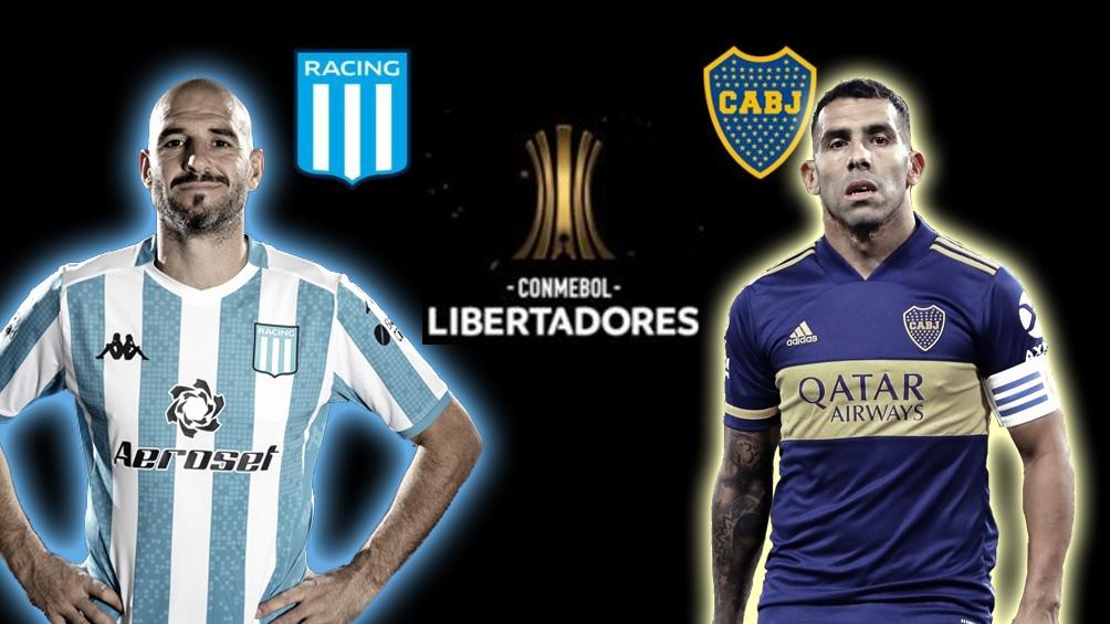 Hasta ahora, Boca y Racing se enfrentaron cinco veces en la Libertadores, con tres triunfos xeneizes y dos empates.