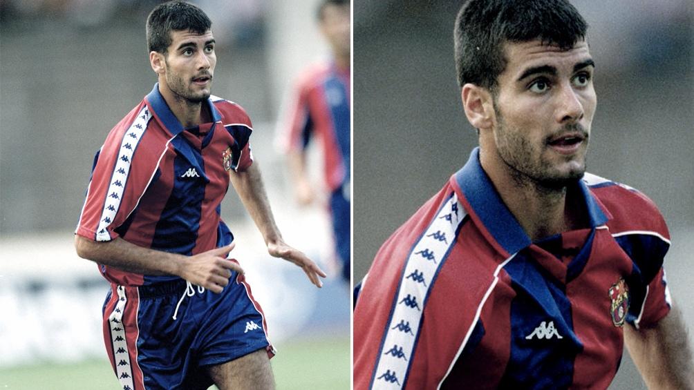 Guardiola debutó en el Barcelona con apenas tenía 19 años