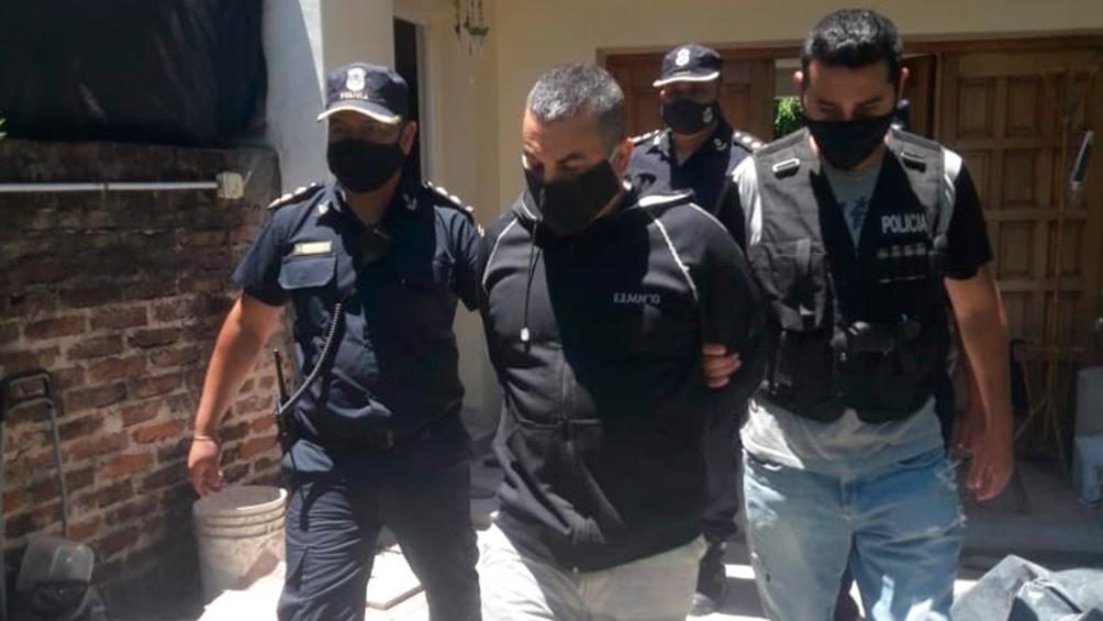 Tablado fue apresado en su casa de Albarellos 348 en el partido de Tigre