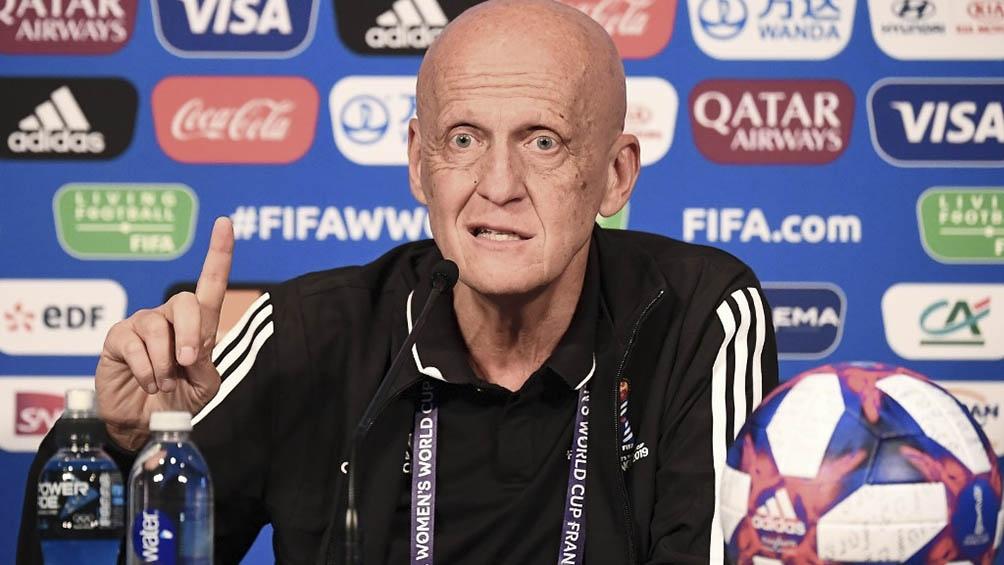 """A los 60 años, El """"pelado"""" Collina es presidente de la Comisión de árbitros de la FIFA."""