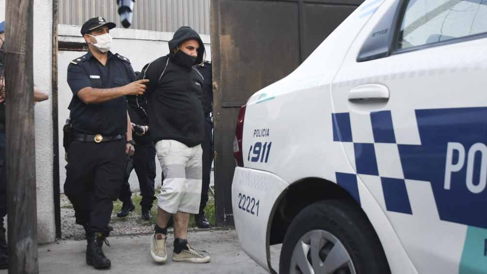 Tablado volvió a ser detenido el miércoles por violar la restricción perimetral que tenía con el padre de la víctima.