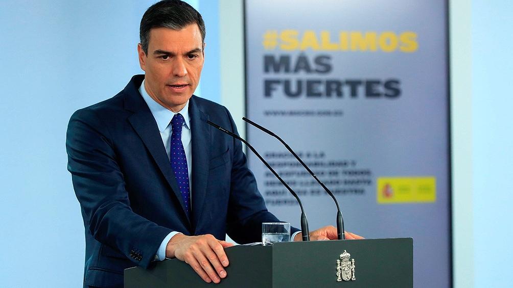 """""""Son todas mujeres que en sus distintas responsabilidades han realizado una labor destacada para el Ejecutivo durante esta pandemia"""", destacó el presidente del Gobierno español"""