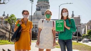 Amnistía Internacional entregó al Senado 250.000 firmas para pedir por el aborto legal