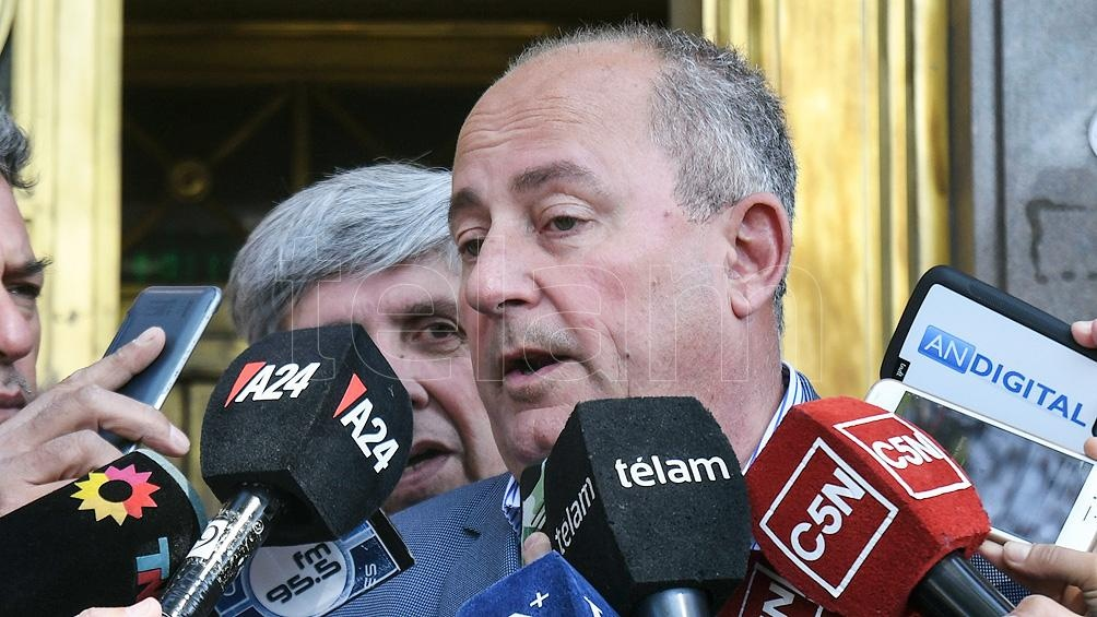 El radical Juan Carlos Marino buscará también ser reelecto.