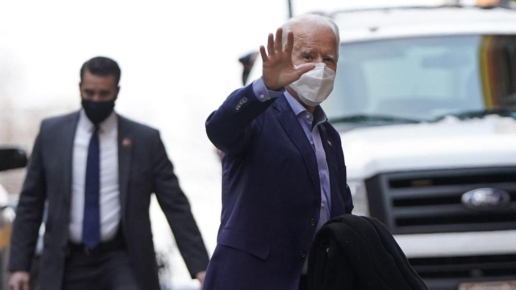 Biden prometió el regreso de Estados Unidos al Acuerdo de París sobre cambio climático y a la OMS.