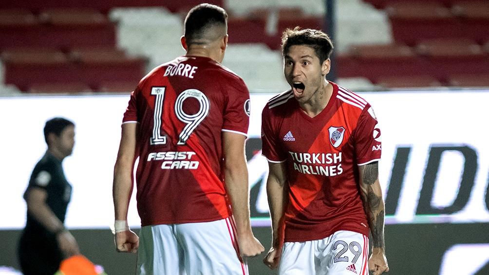 El colombiano Rafael Santos Borré y el lateral Gonzalo Montiel son algunos de los jugadores que podrían emigrar.