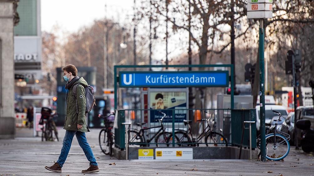 Alemania registró la cifra diaria más baja de casos de los últimos tres meses