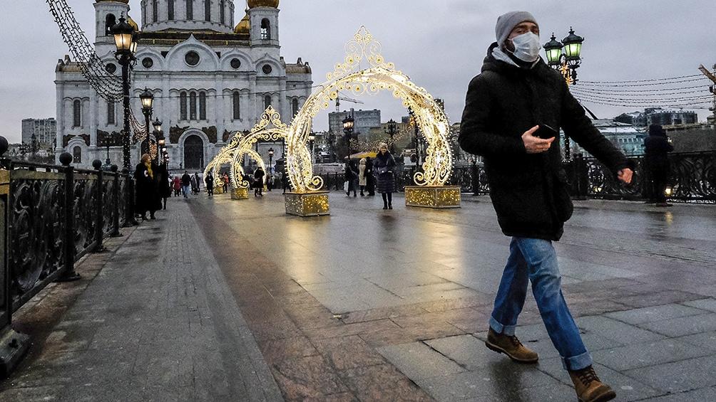 Moscú registró en las últimas 24 horas 144 decesos por esta enfermedad
