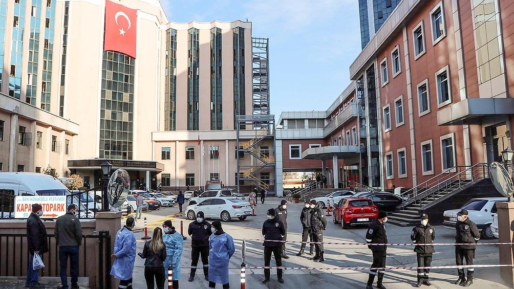 Turquía tiene una de las peores tasas de infección del mundo.