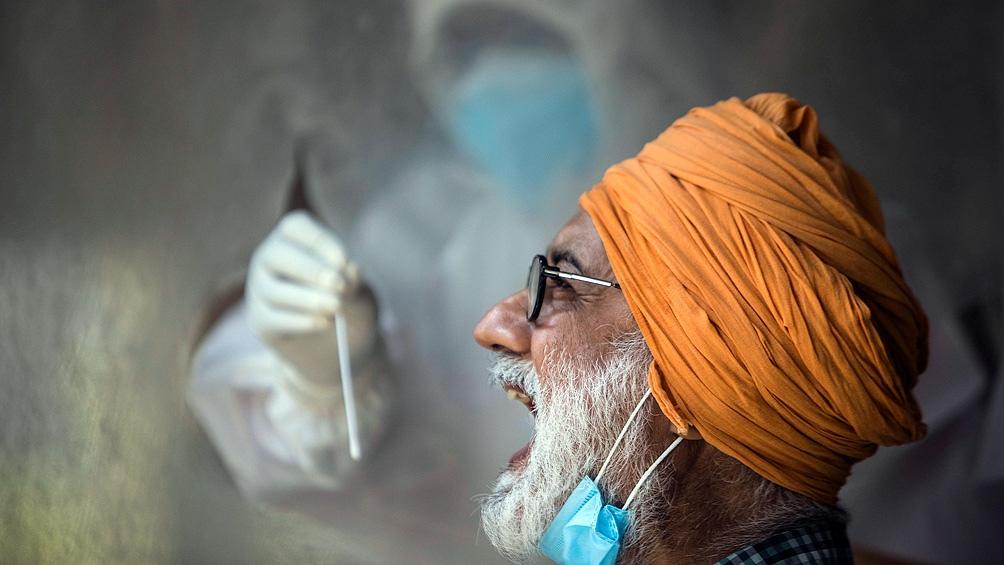 India es el tercer país más afectado por la enfermedad.