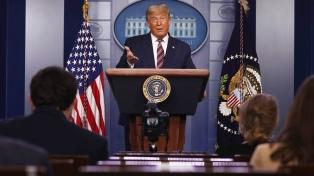 Trump se despide de la ONU con un desafío y en casi completa soledad