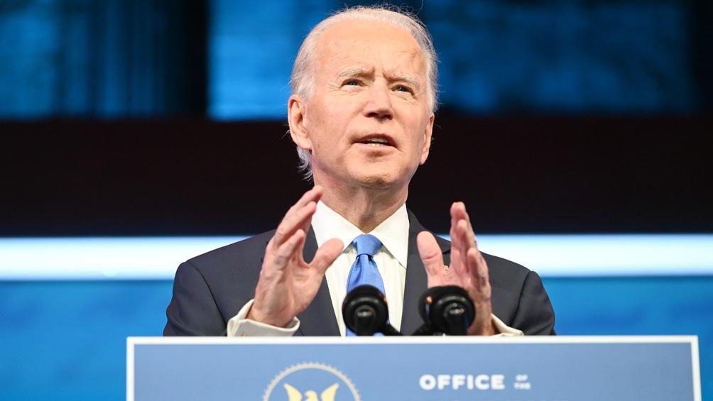 El colegio electoral ratificó el 14 de diciembre el triunfo de Biden, con 306 electores contra 232 de Trump.