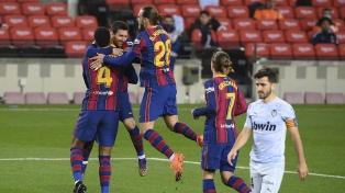 Messi igualó un histórico récord de Pelé