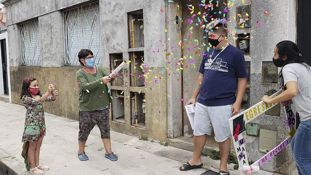 """Corso: """"Fue una experiencia maravillosa, y cada familia armó una fiesta y sorpresa para cada niño y niña"""""""