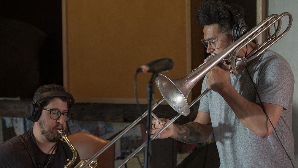La banda montó un estudio en la localidad de José Ignacio.