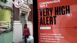 La cepa británica del coronavirus está presente en 70 países y la sudafricana en 31, según la OMS