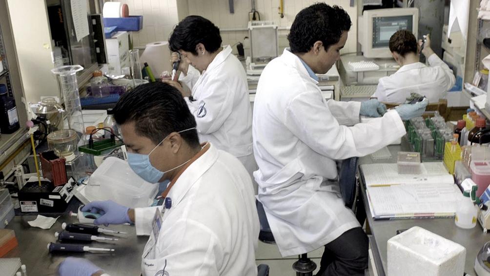El Presidente dio un gran reconocimiento al trabajo de los científicos argentinos.