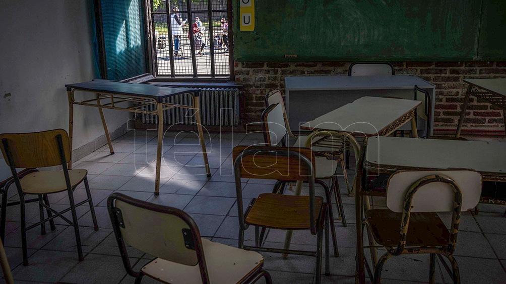 Con la reapertura de las escuelas, las clases se dieron al aire libre, para evitar los contagios.