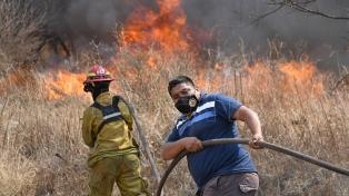 Neuquén, La Pampa y Río Negro son las provincias con focos activos de incendios forestales