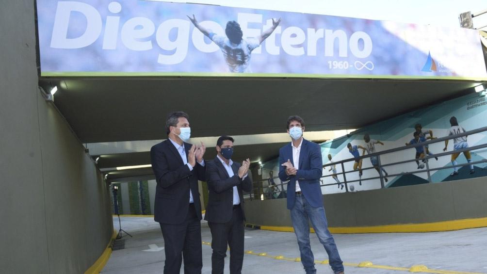 """Paso bajo nivel """"Diego Armando Maradona"""" San Fernando"""