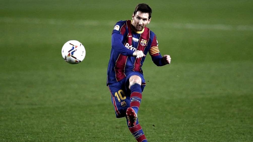 Messi viene de igualar a Pelé como máximo anotador con un mismo equipo en su carrera