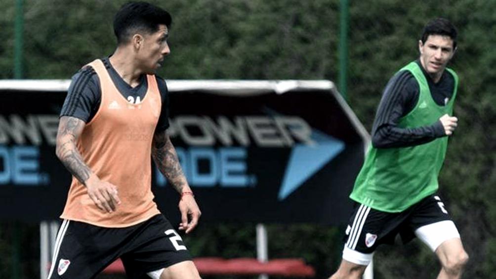 Enzo Pérez e Ignacio Fernández se ponen a punto para volver a ser titulares