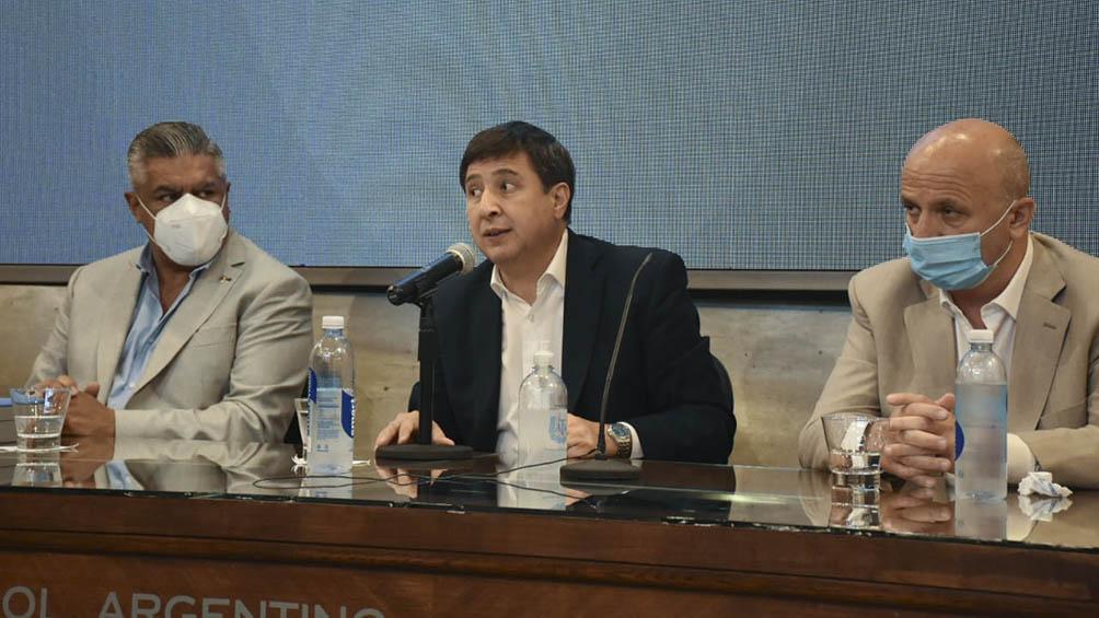 La AFA anuncia un plan de acompañamiento de jóvenes con el Ministerio de Desarrollo