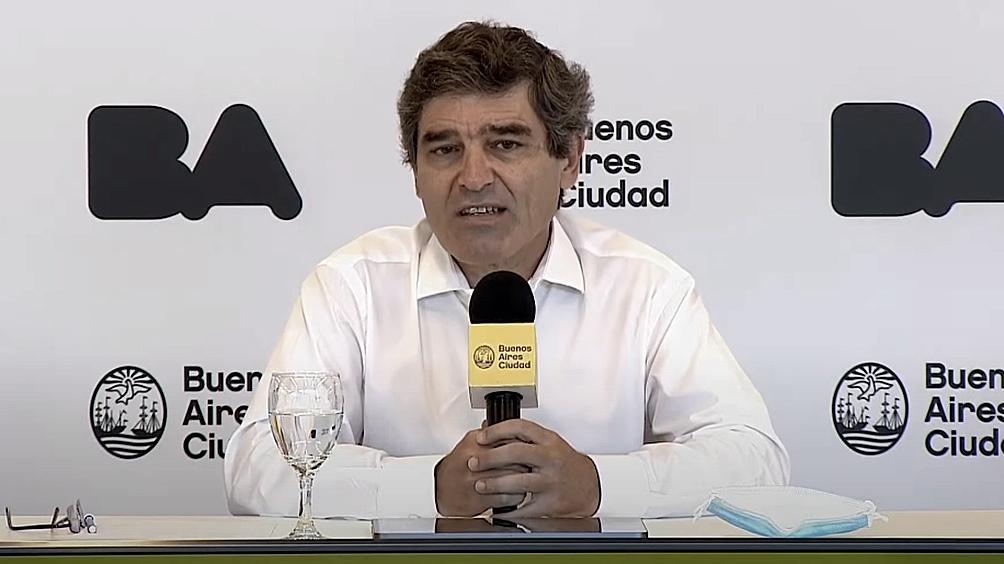 """El ministro de Salud porteño aseguró que por delante """"tenemos una segunda ola"""""""