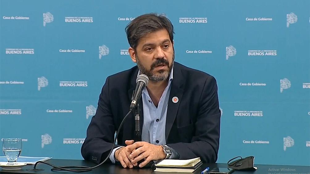 """Bianco detalló que en la última semana se contactó un total de 2.529 personas, de los """"un total de 2.217 fueron desestimados"""""""
