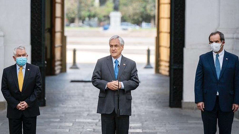 Piñera realizó el anuncio de un nuevo plan de manejo de la pandemia