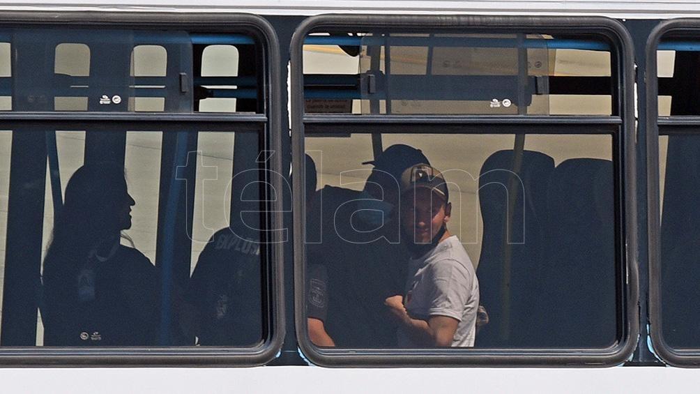 Messi al llegar a Rosario para pasar Navidad en el país.