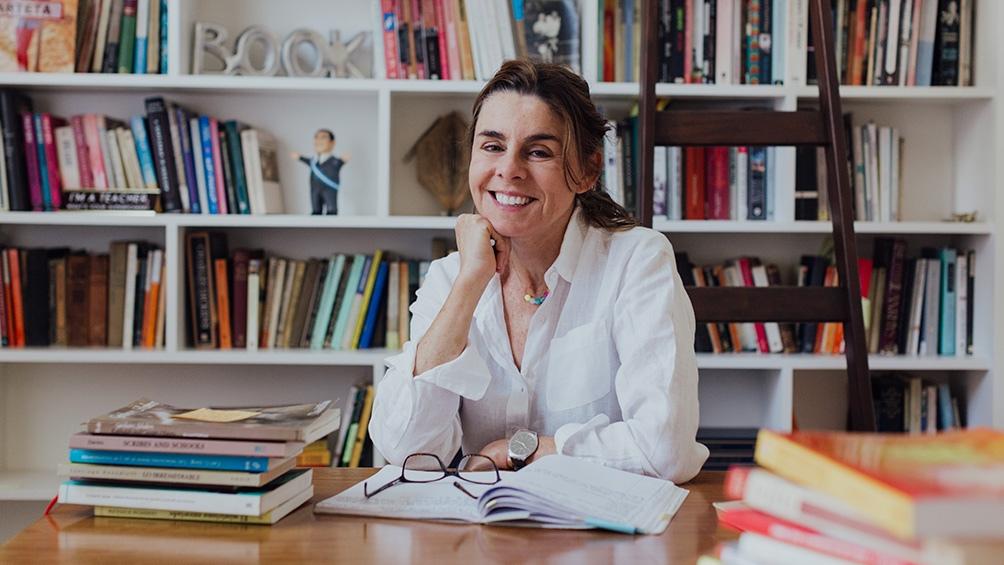 "En 2019 Arteta publicó la novela ""Los caimanes""."