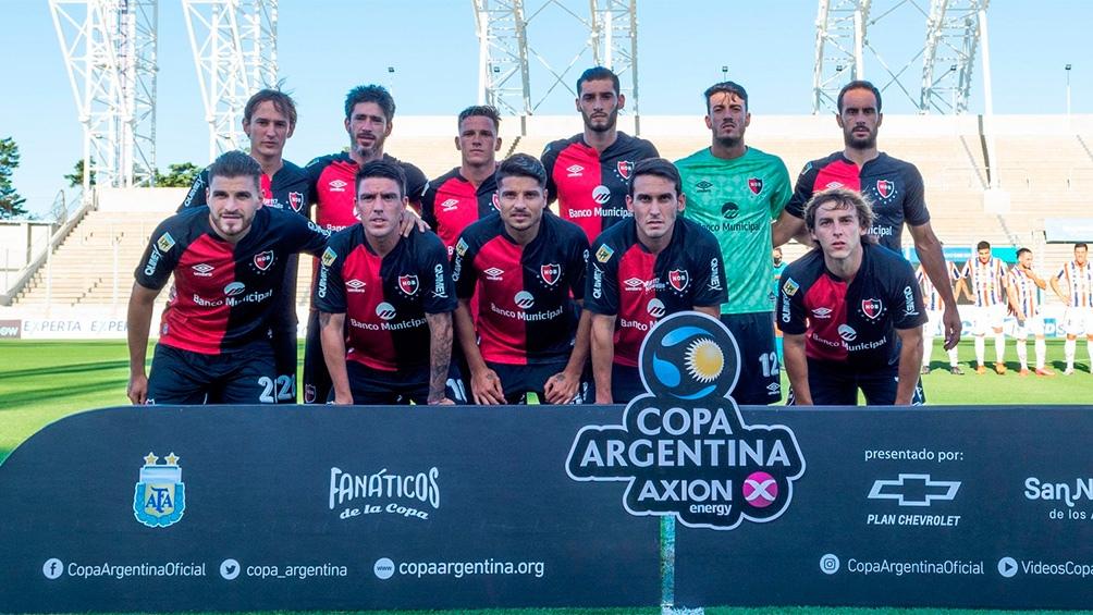 El equipo rosarino ahora enfrentará a Sarmiento de Junín (foto: @Copa_Argentina)