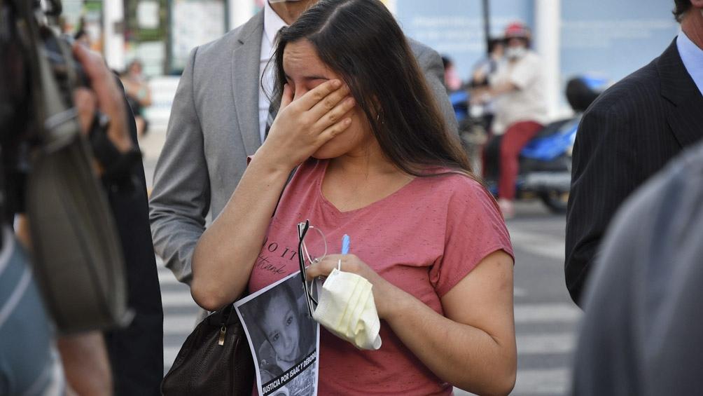 Débora Inés Agosti y su hijo Isaac fueron atropellados y el niño murió en el acto.
