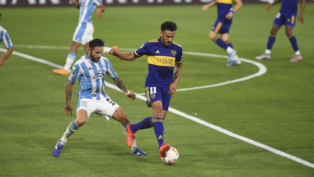 En la Bombonera Boca se impuso por 2 a 0 y pasó a semifinales.