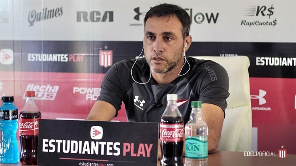Leandro Desabato se fue después de no ganar nada con Estudiantes.