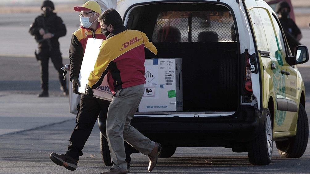 Siguen llegando vacunas para continuar con la campaña que comenzó el 24 de diciembre.