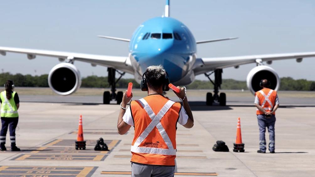 Esta misión culminará el próximo jueves al mediodía, cuando el avión aterrice de regreso en Ezeiza con las vacunas.
