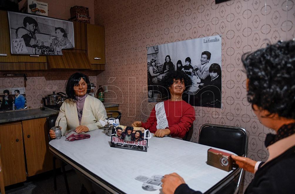 La cocina de los Maradona, con momentos imborrables para la familia en el corazón de La Paternal