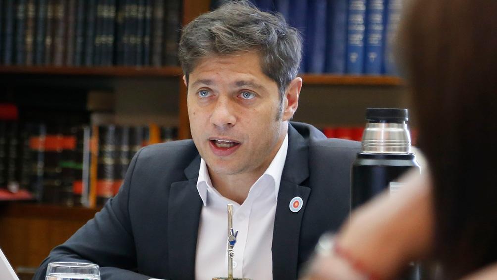 """Kicillof aseguró que """"la idea es consolidar el Frente de Todos"""""""