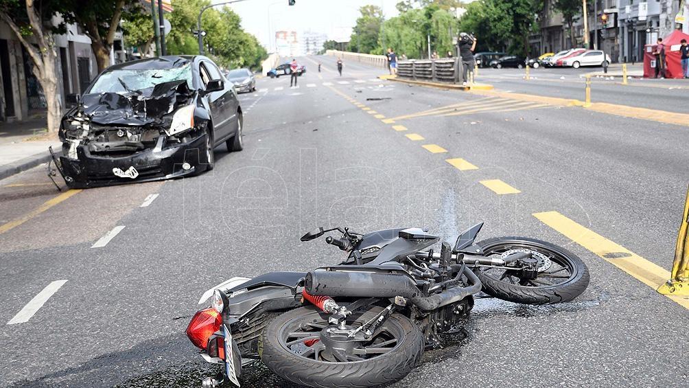 Los motociclistas fueron los más afectados en los accidentes de transito