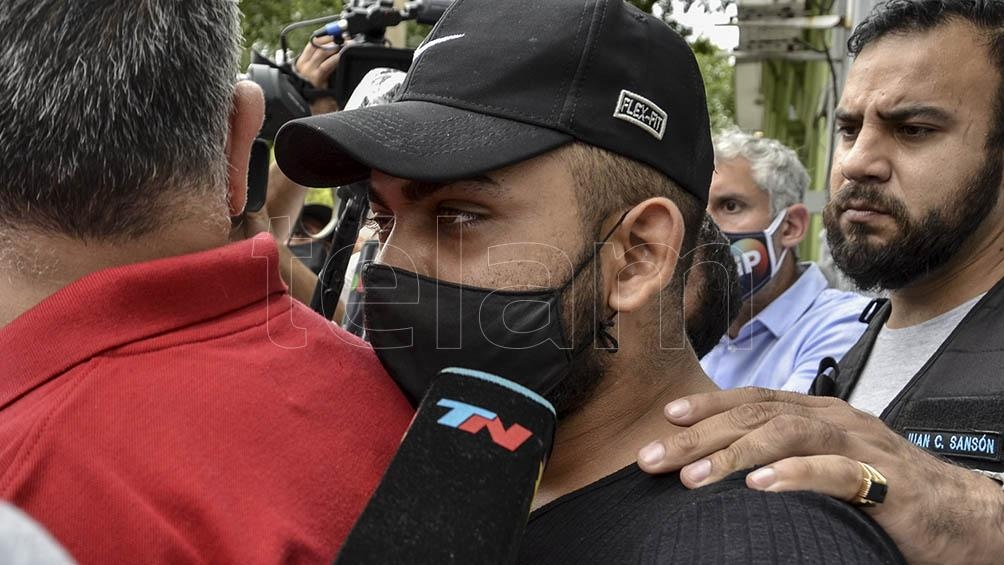 Rubén Papadopulos se entregó este mediodía en una comisaría de Palermo.