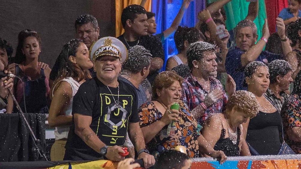 Maradona y la conexión familiar y deportiva con la provincia de Corrientes (archivo)