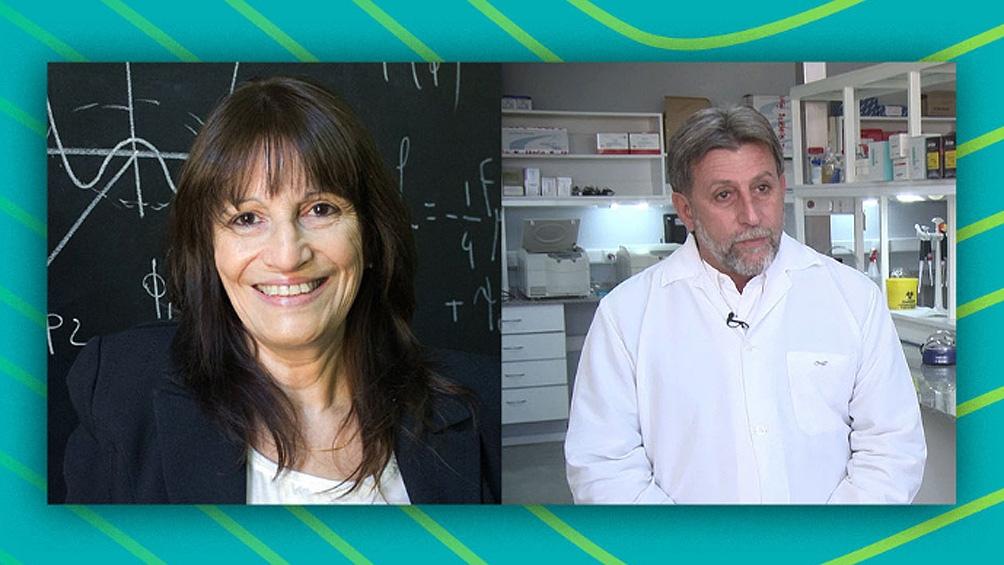 Teresa Dova y Hugo Luján fueron distinguidos con el premio de la Academia Mundial de Ciencias.