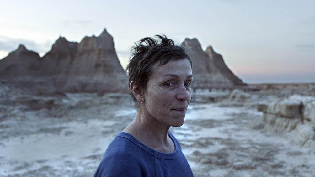 """""""Nomadland"""", de Chloé Zao y el protagónico de la oscarizada Frances McDormand."""