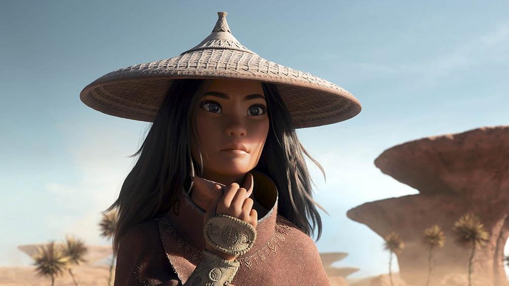"""""""Raya y el último dragón"""", de Disney, traerá de vuelta en marzo a una empoderada guerrera de un mundo de fantasía."""