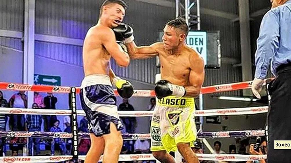 Velasco, de 33 años tiene un récord de 22 triunfos (14 ko) y 2 derrotas.
