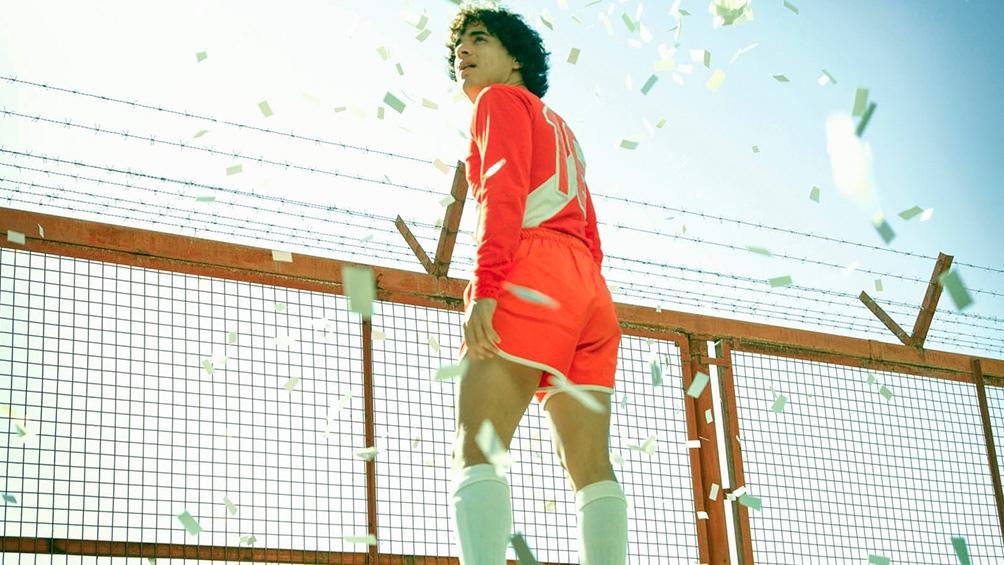 La vida y la magia de Diego Maradona se convierten en miniserie.