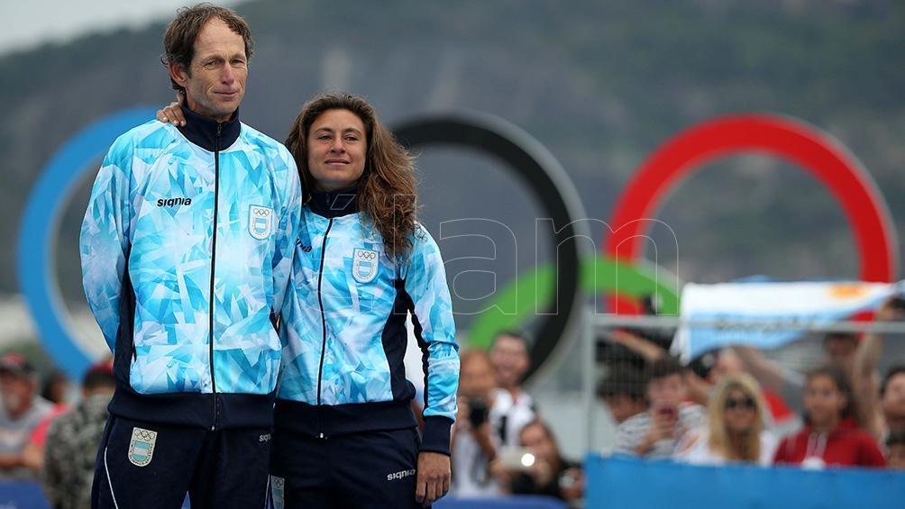 Santiago Lance (61) y Cecilia Carranza (33) aceleran su preparación, luego de casi siete meses sin competir por la pandemia.