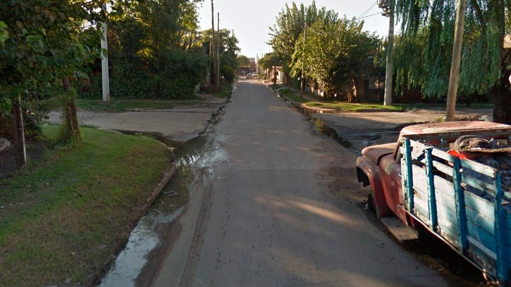 El homicidio ocurrió el sábado minutos antes de la medianoche en una vivienda ubicada en la calle Larraya al 4900, esquina Colegiales, en González Catán.